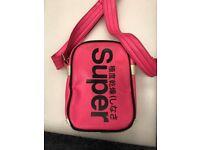 Superdry pink bag
