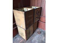 4x tea chests