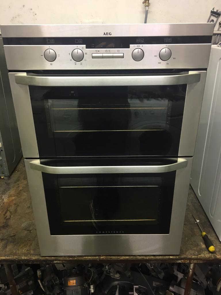 Aeg double electric oven