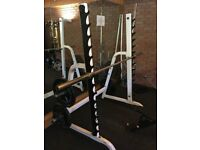 Squat rack/stand .Body solid light commercial . Ideal for garage or PT studio £65