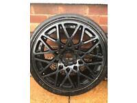 "5x112 19"" Dare LG2 alloy wheel Rotiform Replica Vw Audi Seat Skoda"