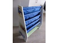 Boys sling bookcase