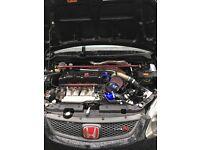 Honda Civic type R turbo!