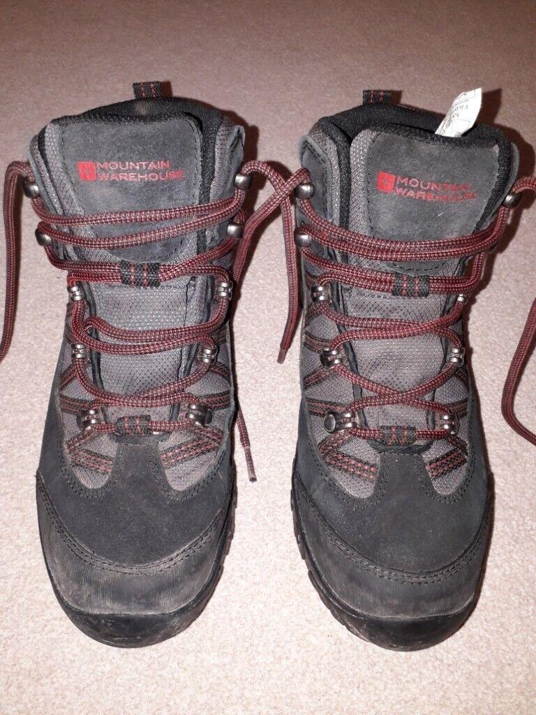 147be65d7b Mountain Warehouse kids  waterproof mountain hiking boots size UK4 EUR 36