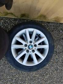BMW 1 SERIES x4 ALLOYS WITH TYRES 225 50 16