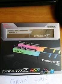 G.skills Trident Z RGB DDR4 RAM 16gb 3200mhz