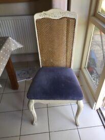 Beautiful shabby chic chairs x 2