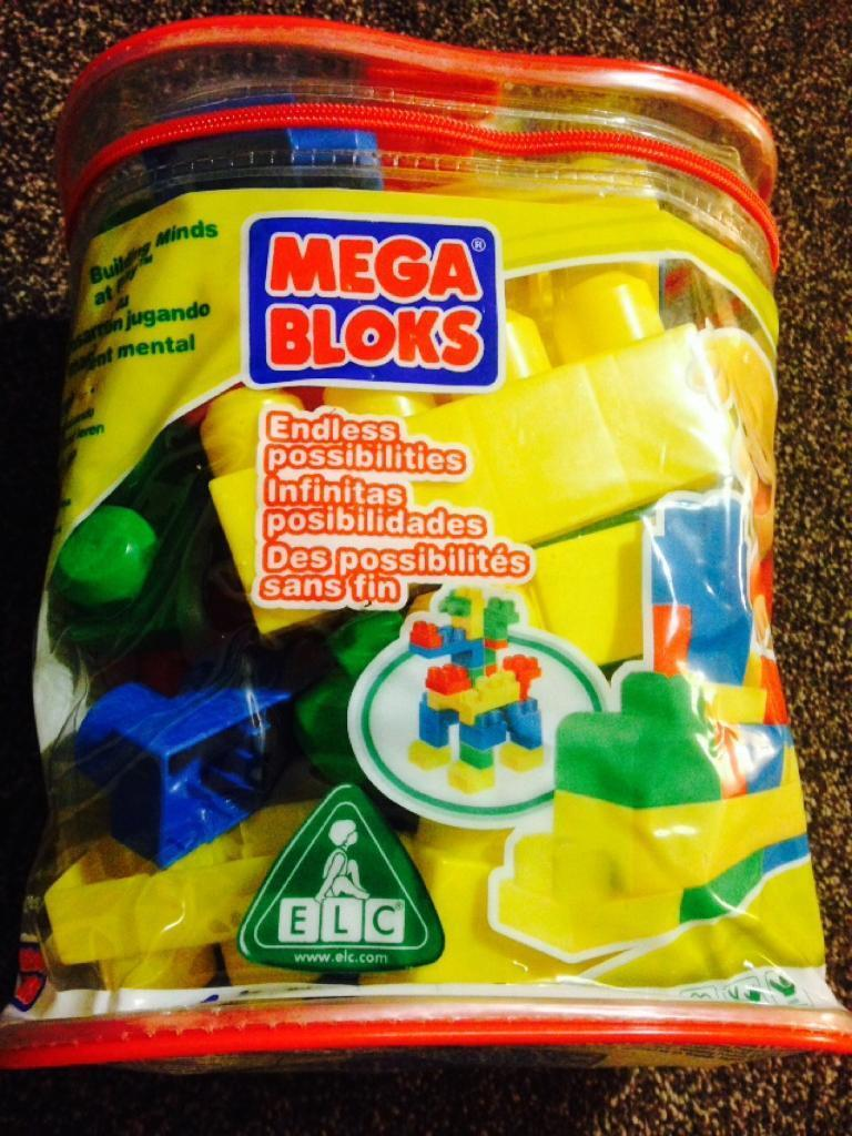 MEGA BLOKS 24 piece set. Excellent condition. Hardly used