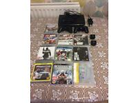 PS3 and 12 games for sale