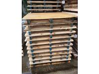 Wooden second hand pallets