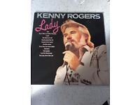 Kenny rogers Lady LP plus more great condition