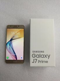 SAMSUNG GALAXY J7 PRIME GOLD 16GB BRAND NEW UNLOCKED WITH RECEIPT