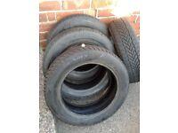 Winter Tyres - Maxxis Presa Snow tyres, 165 / 65 R15,
