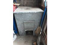 Free metal coal bunker