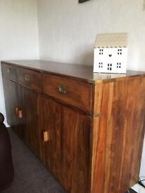 Solid Walnut Dresser