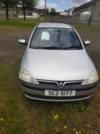 VAUXHAUL CORSA 1.2 16V Perfect First Car MOT May 19