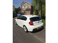 FOR SALE: WHITE BMW 116D M Sport