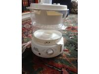 Hinari steam supreme electric food steamer with timer