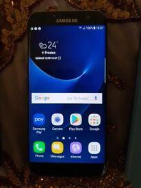 Samsung Galaxy S7 Edge Black Pristine condition