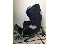Cybex Sirona car seat group 0+/1. Blue/ black.