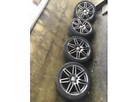 Audi alloys 18inch