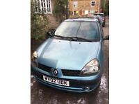Renault Clio 2002 - Turquoise
