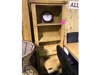 Oak bookshelve with drawer