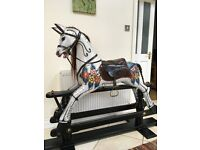 **Beautiful and Unique wooden ROCKING HORSE**