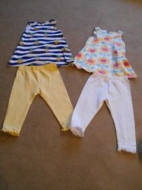 Girls outfits - 12-18 months