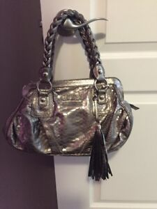 Silver guess purse