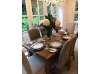 Dining Table - extendable- Solid wood