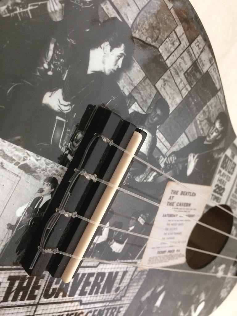 Cavern club Beatles ukulele