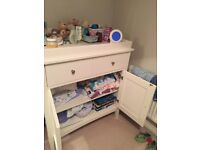 Marks & Spencers Hastings Ivory changing unit