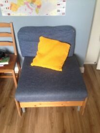 STOMPA UNO S CHAIR BED Fold out sleep over
