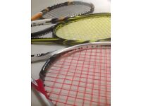 TENNIS AND SQUASH RACKET STRINGING SERVICE AT AFFORDABLE PRICES - WIMBLEDON
