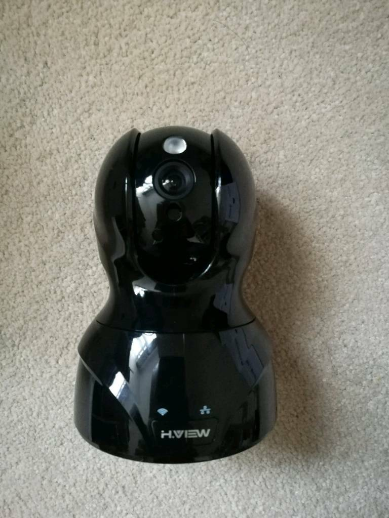 H.View HD WiFi Wireless Security IP Camera with audio,Night Vision, Motion Detection