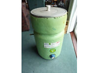 HOT WATER CYLINDER, INDIRECT COMBINATION.