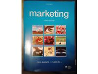 Oxford Third Edition Marketing Book by Paul Baines, Chris Fill