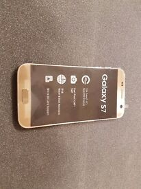 SAMSUNG GALAXY S7 32GB SIMFREE COMES WITH CHARGER AND THREE MONTHS WARRANTY***FREE DELIVERY****