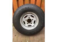 Defender spare wheel