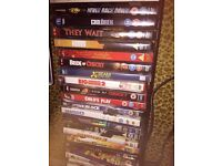 Selection of DVDs 1pound each