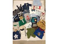 Up to 1 month boys bundle