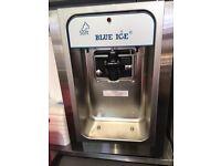 Blue Ice Cream machine