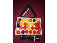 6ft Foldable Snooker and Pool Table