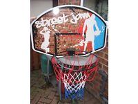 Street Jam Basketball Hoop with Backboard