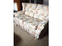 Nice and comfortable two seater sofa