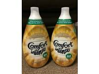 2 x Comfort Intense Luxurious Fabric Conditioner