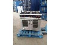 Moorwood Vulcan Commercial Gas Cooker Oven Range With Turbo Fan Convection Oven