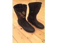 Sidi Rain Evo motorcycle boots - Size 9.5