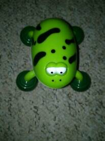 vibrating frog